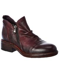 Cordani Parnell Leather Bootie - Red