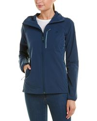 The North Face North Dome Stretch Wind Jacket - Blue