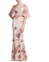 Marchesa notte Gown - Pink