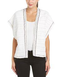 Rebecca Minkoff Candace Vest - White