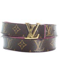 Louis Vuitton Initiales Reversible Monogram Belt - Multicolor
