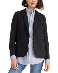 J.Crew Regent Wool-blend Blazer - Black
