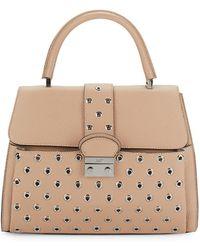 RED Valentino - Textured Leather Handbag - Lyst