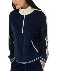 Faherty Brand Richie Pullover - Blue