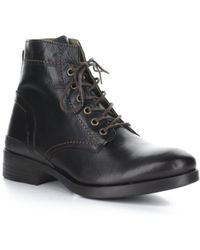Fly London Apso Leather Boot - Black