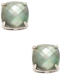 Kate Spade | Small Square Stud Earrings | Lyst