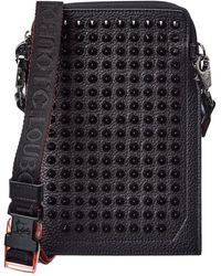 Christian Louboutin Loubilab Leather Crossbody - Black