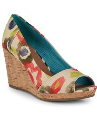 TOMS Stella Wedge Sandals - Multicolour