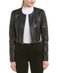 BCBGMAXAZRIA Quilted Jacket - Black