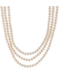 Splendid - 5-6mm Pearl 100in Necklace - Lyst