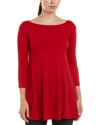 Susana Monaco 3/4-sleeve Top - Red