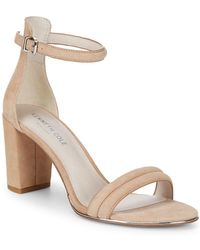 Kenneth Cole - Lucie Suede Block-heels - Lyst