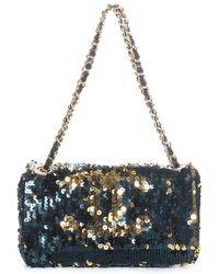 Chanel - Multicolour Sequins Flap Bag - Lyst