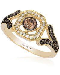 Le Vian - Chocolatier® Chocolate Diamond® Deco Estate Ring - Lyst