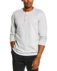 Grayers Madison Jaspe Henley Shirt - Gray