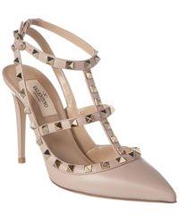 Valentino Valentino Garavani Rockstud Court Shoes - Pink