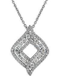 Nephora 14k 0.67 Ct. Tw. Diamond Pendant