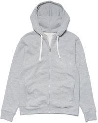 Richer Poorer Zip Hoodie - Grey