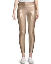Body Language Shimmering Legging - Metallic