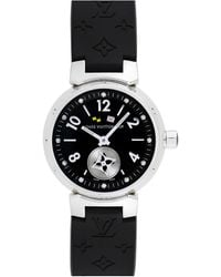 Louis Vuitton Louis Vuitton 2000s Women's Tambour Lovely Cup Watch - Black
