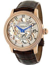 Stuhrling Original Men's Brumalia Watch - Metallic
