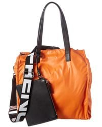 French Connection Heidi Reversible Tote - Orange