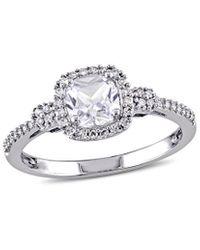Rina Limor 10k 0.89 Ct. Tw. Diamond Ring - Metallic