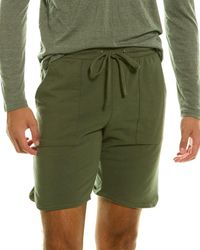 Goodlife Clothing Overdyed Micro Terry Scallop Short - Green