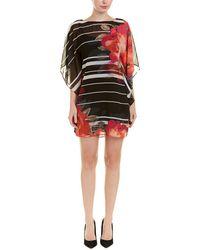 Trina Turk Printed Shift Dress - Brown