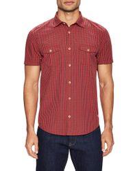Color Siete - San Simeon Cotton Checked Sportshirt - Lyst