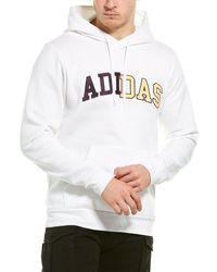 adidas Collegiate Clash Hoodie - White