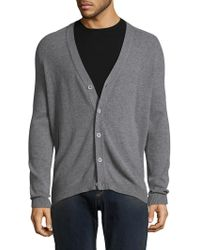 Autumn Cashmere - Ribbed Cashmere Cardigan - Lyst