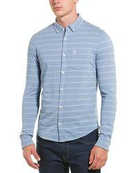 Original Penguin Woven Shirt - Blue