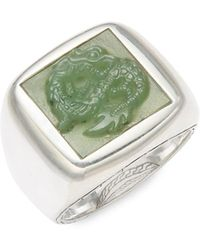 John Hardy - Sterling Silver Legends Band Ring - Lyst