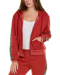 Wildfox Everyday Track Jacket - Red