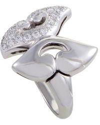 BVLGARI Bulgari Platinum 0.42 Ct. Tw. Diamond Ring - Metallic