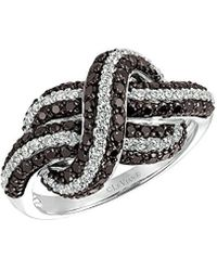 Le Vian 14k 1.29 Ct. Tw. Diamond Love Knot Ring - Multicolour