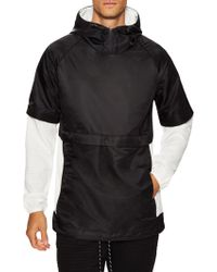 Matiere - Nylon Hooded Jacket - Lyst