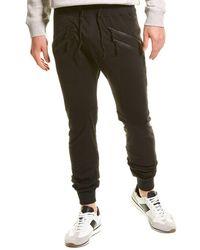 American Stitch Zipper Pant - Black