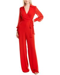 Jay Godfrey Bamby Jumpsuit - Red