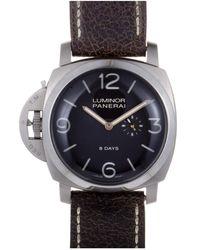 Panerai Officine Panerai Men's Luminor 1950 Left Hand Pam Watch - Multicolor