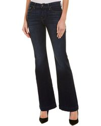 7 For All Mankind 7 For All Mankind Dojo Dark Wash Wide Leg - Blue