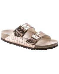 Birkenstock Arizona Gleam Suede Sandal - Multicolour