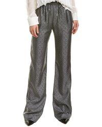 Michael Kors Silk Pant - Gray