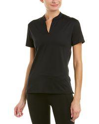 Nike Open Placket Polo Shirt - Black