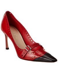 Dior Leather Pump - Red
