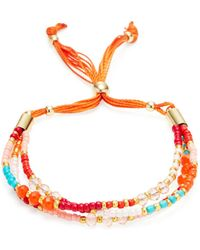 Cara Couture - 3-strand Friendship Bracelet - Lyst