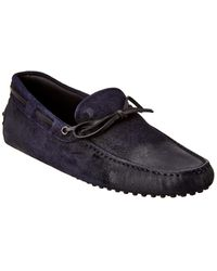 Tod's Gommino Suede Loafer - Black