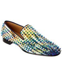 c1da695f43d Lyst - Christian Louboutin Dandelion Leather Loafer for Men