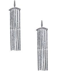 CZ by Kenneth Jay Lane - Cubic Zirconia Dangle Earrings - Lyst